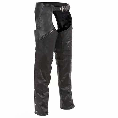 leather riding chaps motorcycle