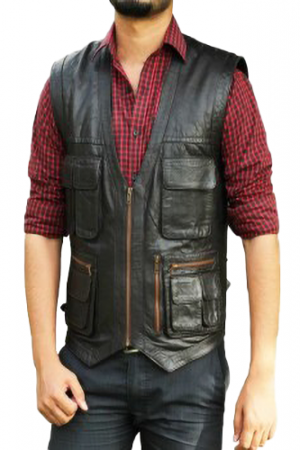 first classics leather vest
