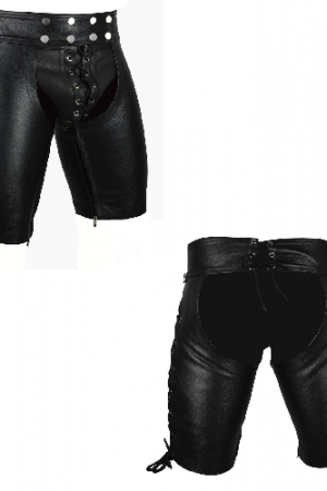 Gay leather chaps