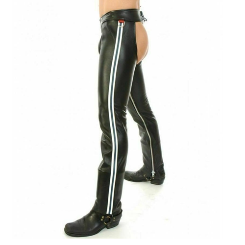 Gay Mens Leather Chaps